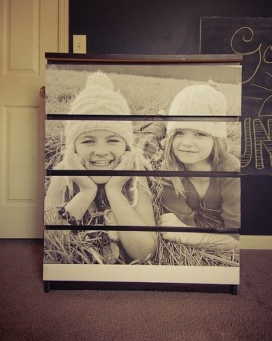 Photo Chest of Drawers